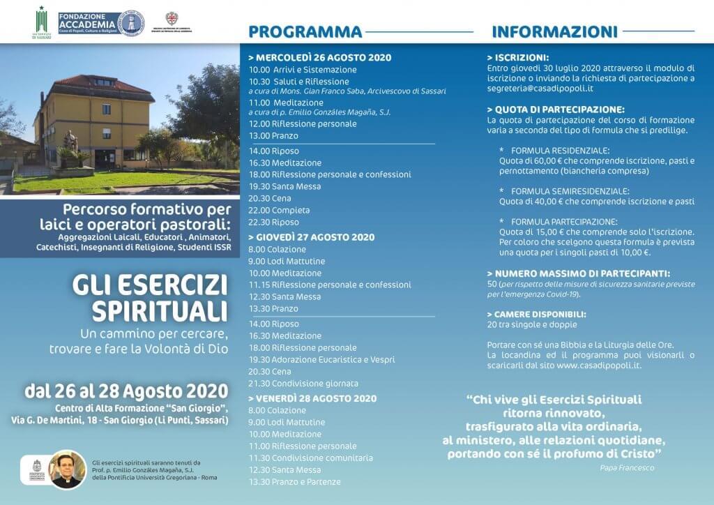 Esercizi spirituali per fedeli laici